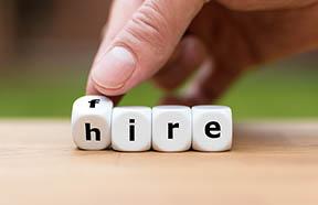 hire/fire dice