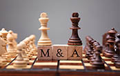 M&A chess board