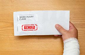 letter stamped DENIED