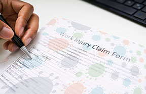 injury claim form